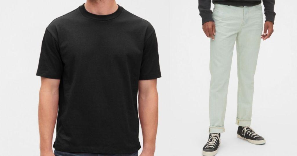 GAP men's shirt and pants