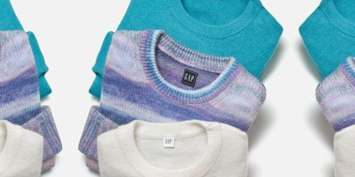 GAP Sweaters as Low as $11.99 (Regularly $30+)   Styles for the Whole Family