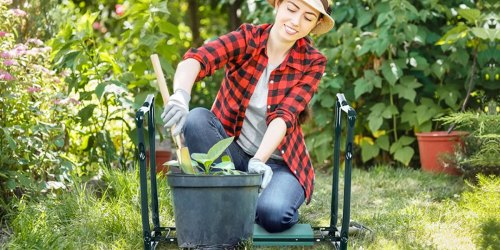 Garden Kneeler & Seat Just $29.97 Shipped on Amazon | Handy for Yard Work & Household Tasks