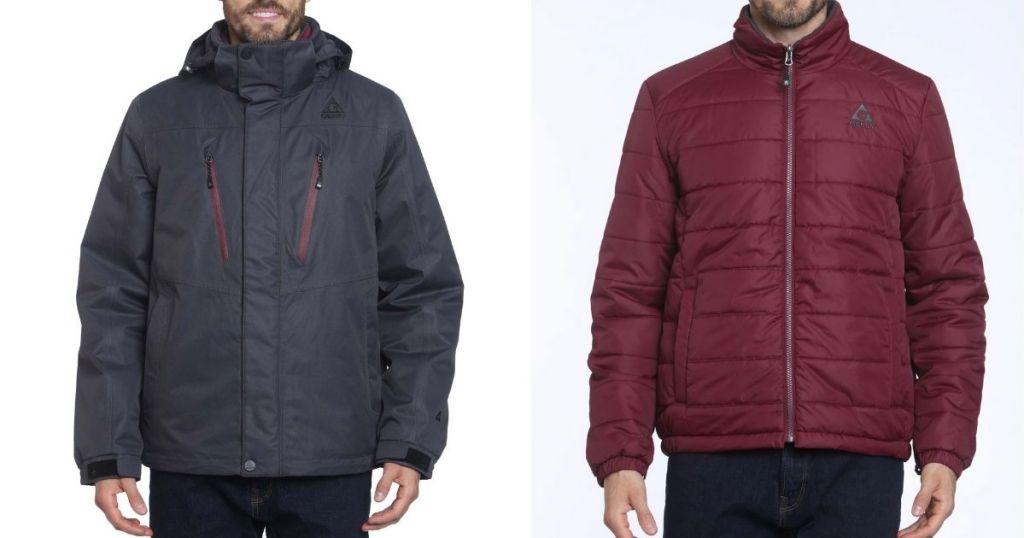 2 layers of Gerry Men's Crusade 3-in-1 Jacket