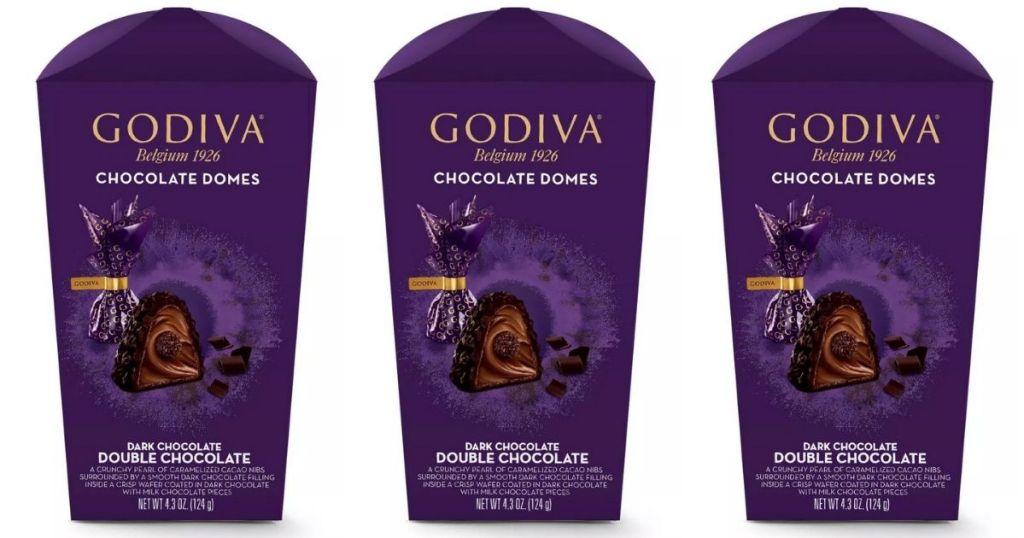 Godiva Chocolate Domes x3