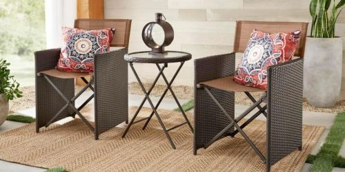 50% Off Patio Furniture + Free Delivery on Home Depot   3-Piece Patio Set Only $149 Shipped