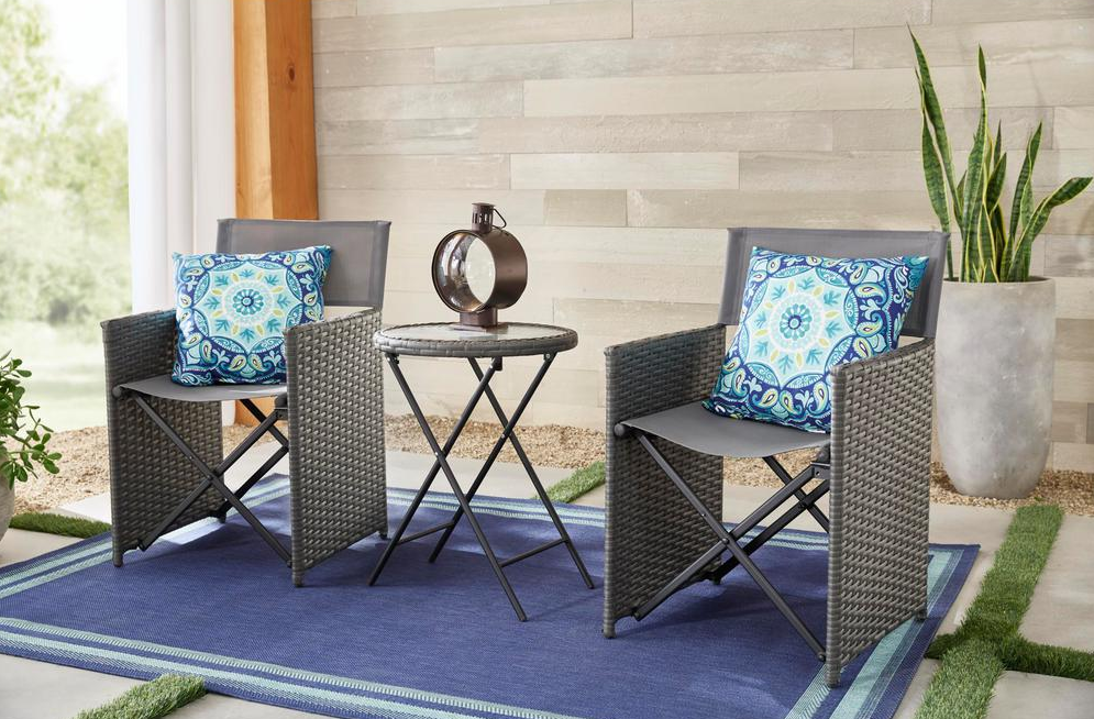Hampton Bay Montrose patio set with table and chairs