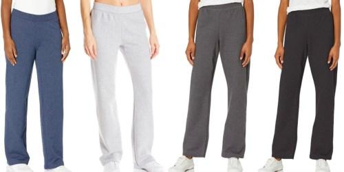 Hanes Women's Fleece Sweatpants from $7.50 on Amazon (Regularly $15)