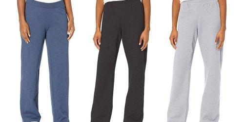 Hanes Women's Fleece Sweatpants from $5.96 on Amazon (Regularly $15)