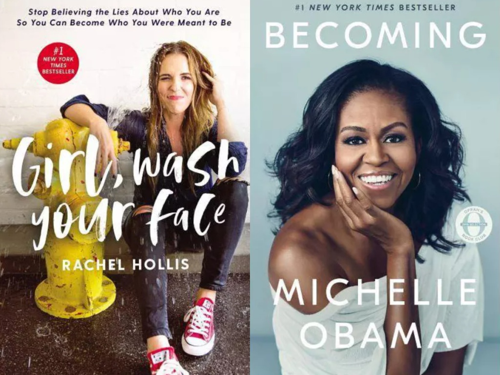 girl, wash your face and becoming Michelle obama