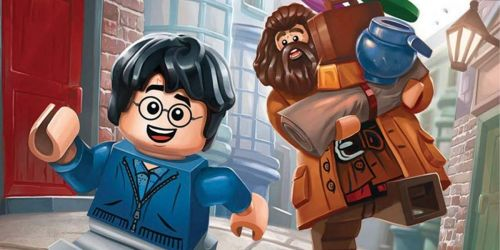 LEGO Harry Potter: Activity Book with Minifigure Only $4.46 on Amazon (Regularly $9)