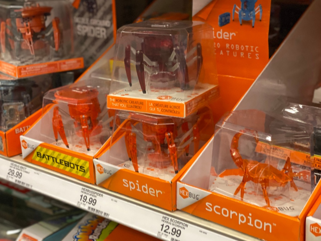 hexbug scorpions and spiders at target