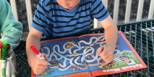 Two Highlights Puzzle Books w/ Stickers Just $1 Shipped | Mazes, Word Games, & More