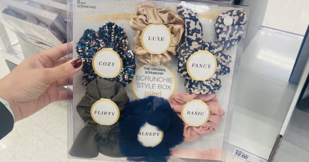 18 Scrunchies Only 9 98 At Target Regularly 30 Fun Gift Idea Hip2save