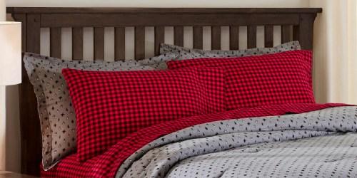 Flannel Comforter Sets from $29.99 on HomeDepot.com (Regularly $75)