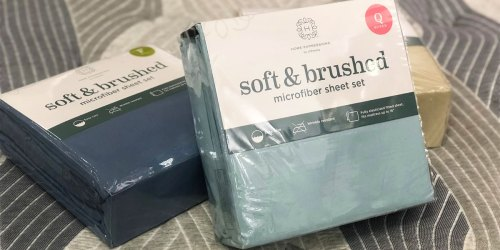 Ultra Soft Microfiber Sheet Sets from $9.74 on JCPenney.com (Regularly $26+)