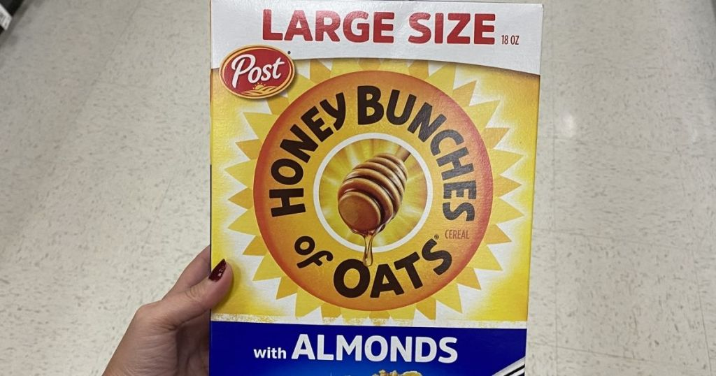 Station Chromatic Bunches Of Oats Cereal 18oz Box Conscionable $2.42 Shipped On Amazon | Large S&s Filler Point