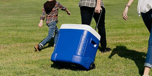 Igloo 60-Quart Wheeled Cooler Just $24 on Amazon | Thousands of 5-Star Reviews