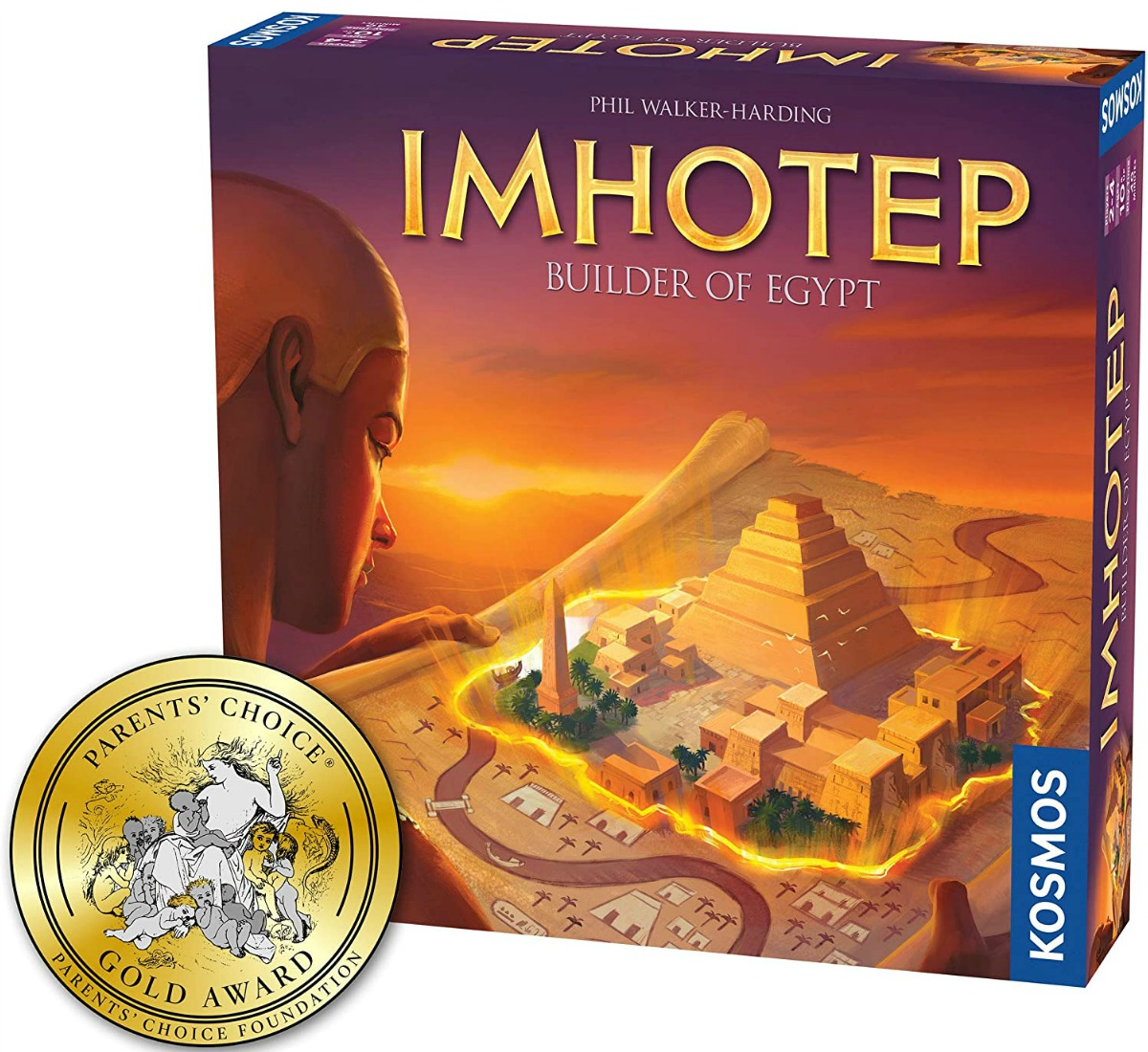 IMHOTEP board game in package