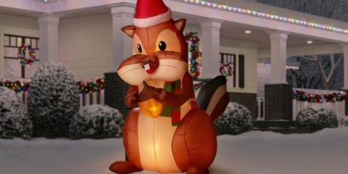 Up to 50% Off Christmas Inflatables & More on HomeDepot.com