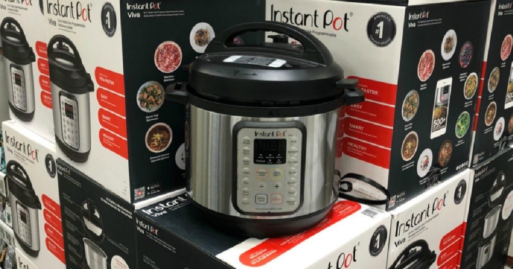 Instant Pot Viva 6 Quart 9-in-1 Multi-Use Pressure Cooker with Easy Seal Lid and Sous Vide Program