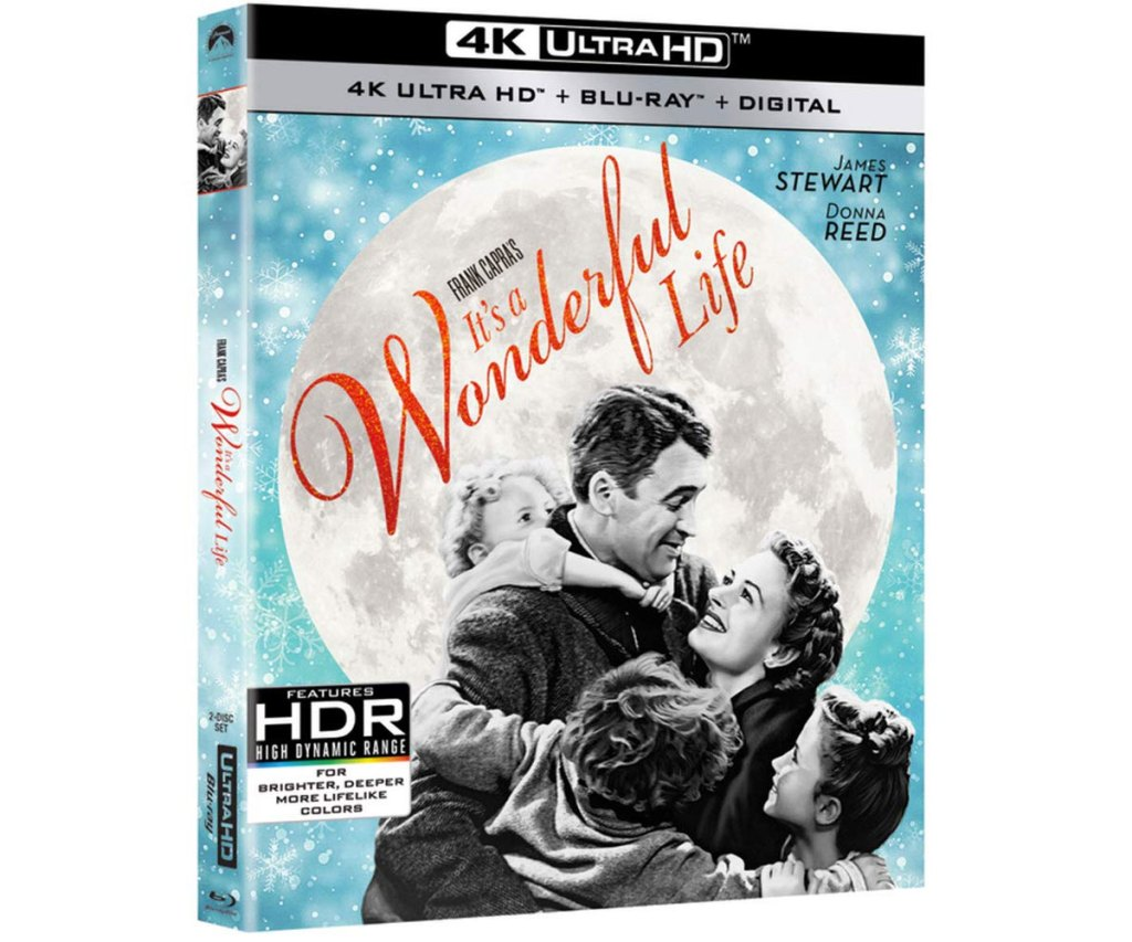 case for it's a wonderful life film on blu-ray