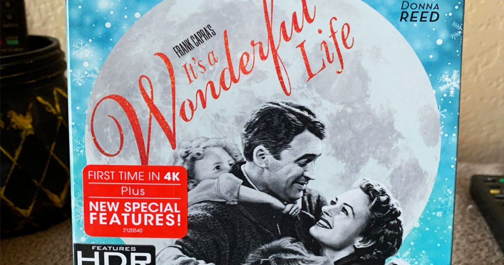 blu-ray case for it's a wonderful life film