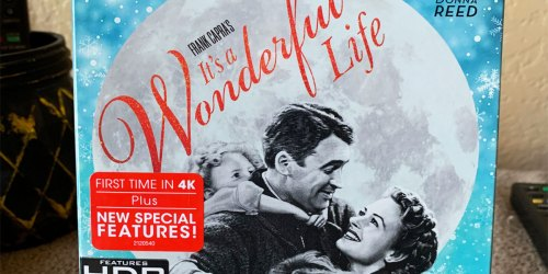 It's a Wonderful Life 4K HD + Blu-Ray + Digital Movie Just $11.99 on Amazon (Regularly $26)
