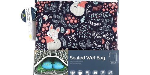 Itzy Ritzy Wet Bag with Adjustable Handle Only $9 on Amazon (Regularly $18) | Over 600 5-Star Reviews