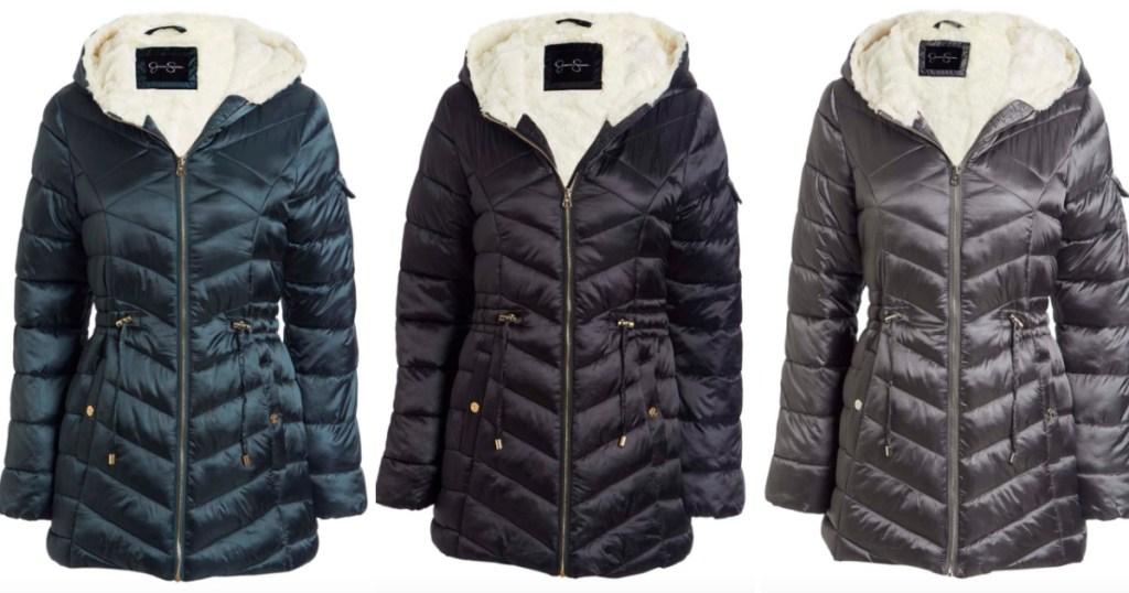 3 jessica simpson puffer jackets