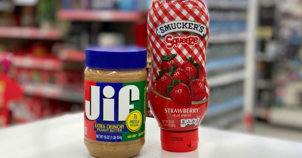 Jif and Smuckers at Walgreens