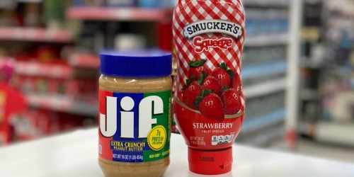 Jif Peanut Butter & Smuckers Jelly Just $1.50 Each at Walgreens | In-Store & Online