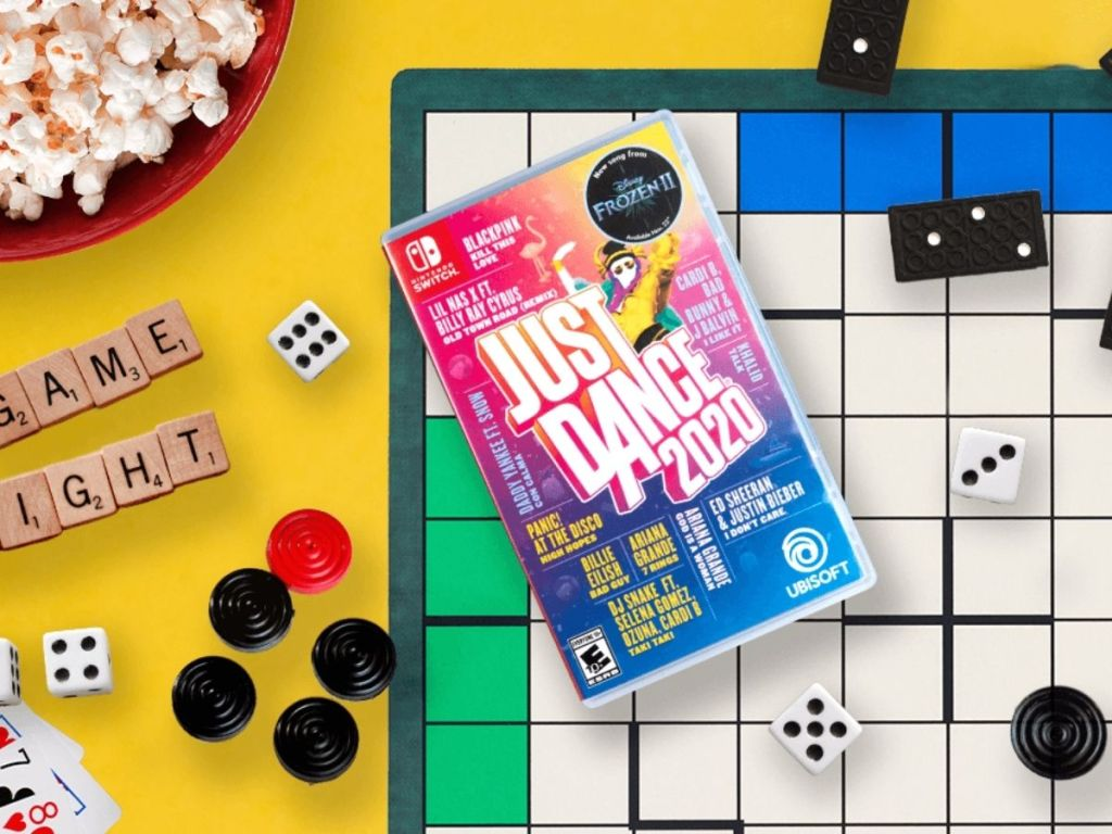 Just dance 2021 on game board