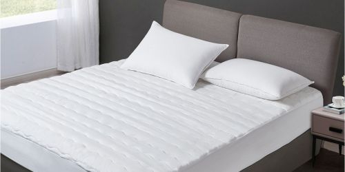 Kathy Ireland Waterproof Mattress Pads Only $19.99 on Macys.com (Regularly $50+) | All Sizes Included!