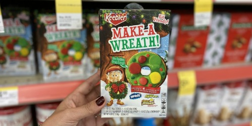 Keebler Make-A-Wreath Cookie Kit Spotted at Walgreens | Kid-Friendly Holiday Activity