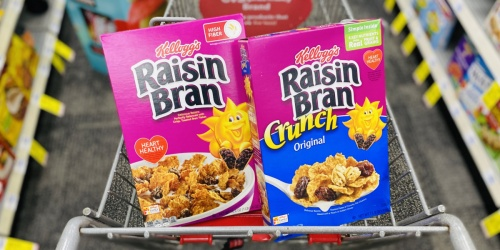 Kellogg's Cereals from 80¢ Each After Cash Back at CVS
