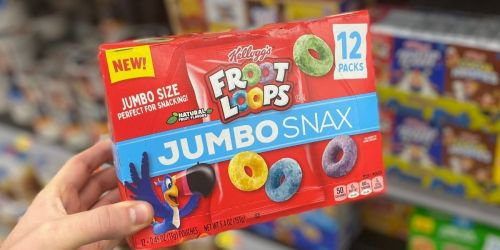 $1/1 Kellogg's Jumbo Snax Coupon Available to Print