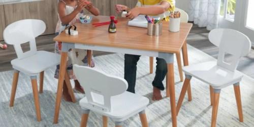 KidKraft Mid-Century Table & Chair Set Just $119.99 on Zulily (Regularly $300)