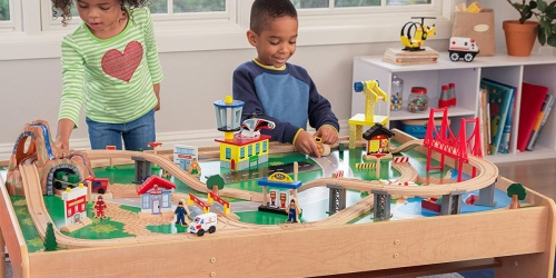 KidKraft Train Set & Table Just $94.99 on Zulily (Regularly $190)