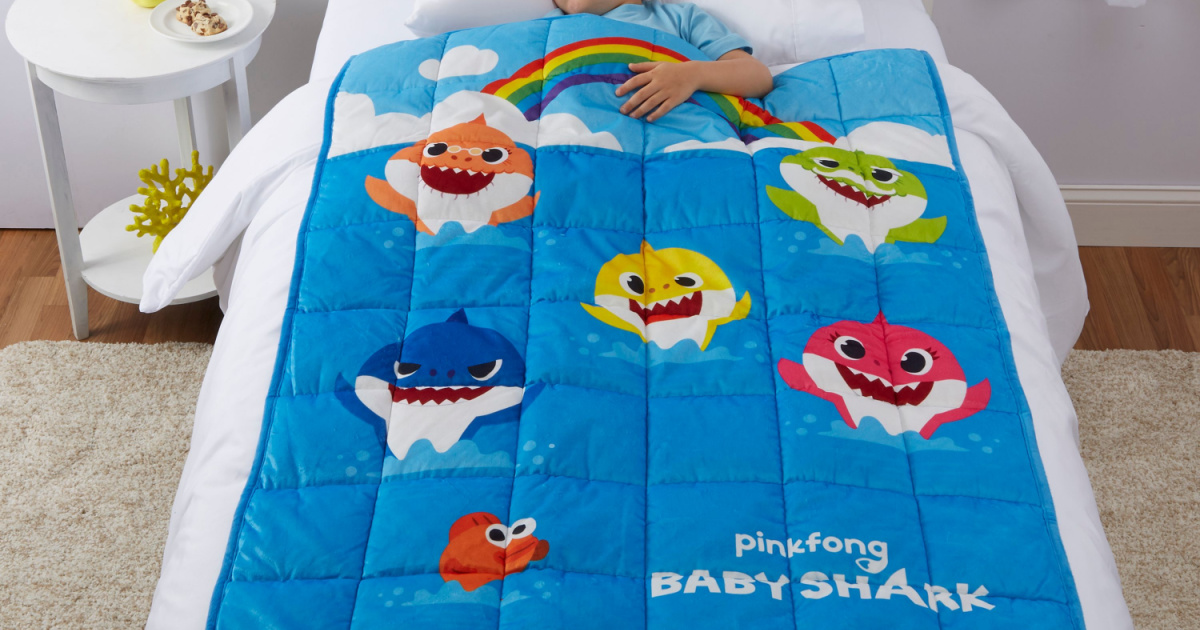 Kids Weighted Blankets from $14.97 on Walmart.com (Regularly $50) | Disney, Baby Shark, & More