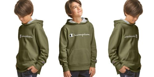 Champion Kids Fleece Hoodie Only $15 on Olympia Sports (Regularly $32)