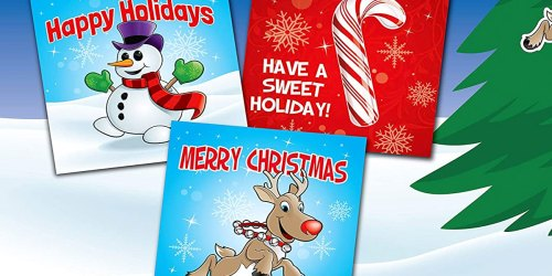 Kids Christmas Cards w/ Pop-Out Ornaments 28-Count Box Just $2.99 on Amazon (Regularly $8) | Great Classroom Cards