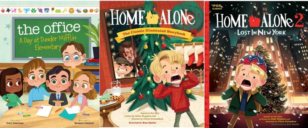 Three covers of kids books