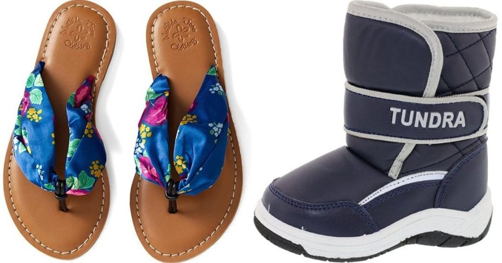 sandals and boots