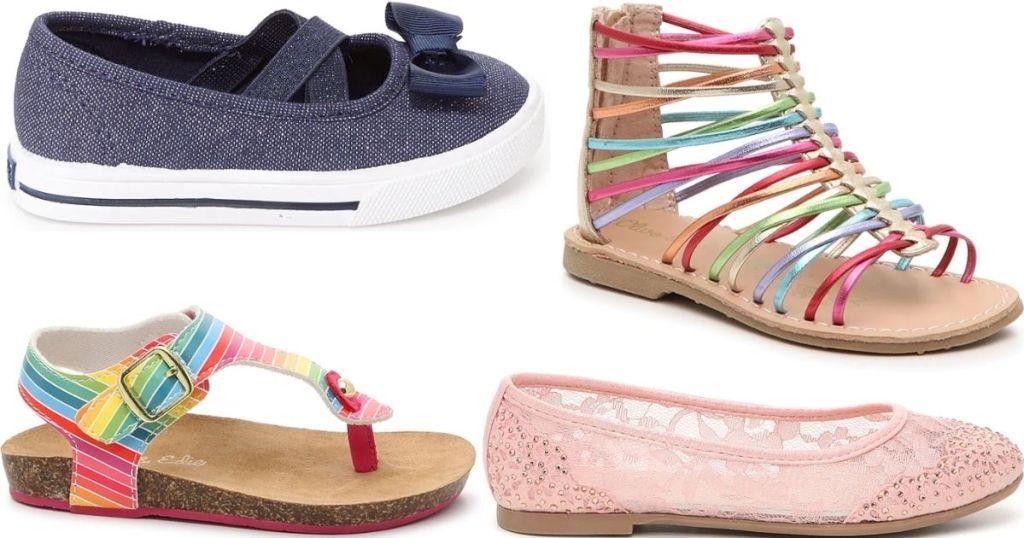 four kids shoes
