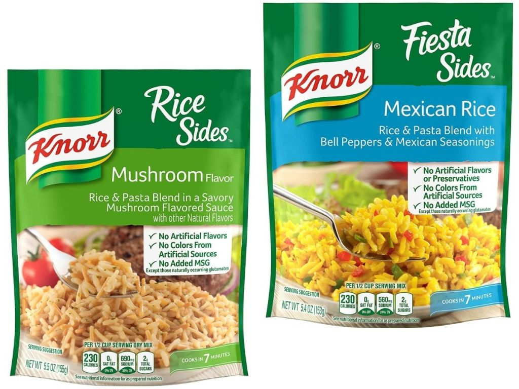 Two Knorr Rice Sides