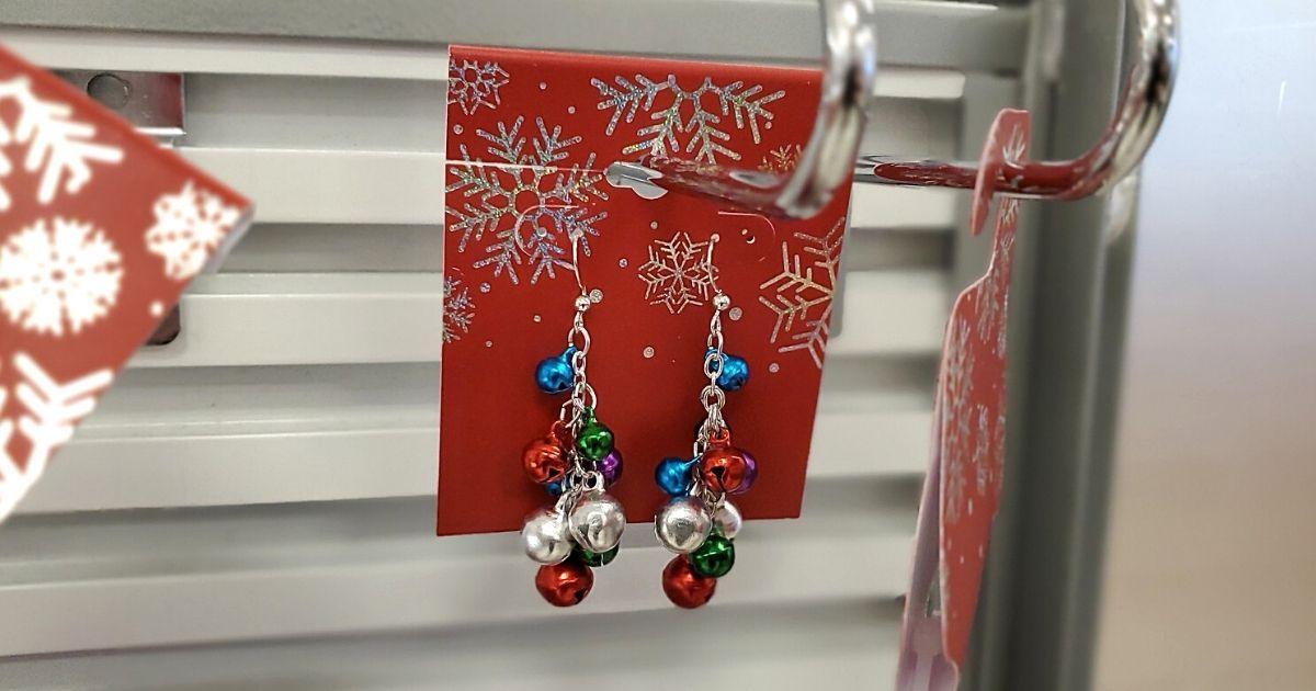Christmas Drop bell earrings at Kohls