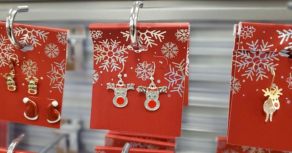 reindeer earrings at kohls