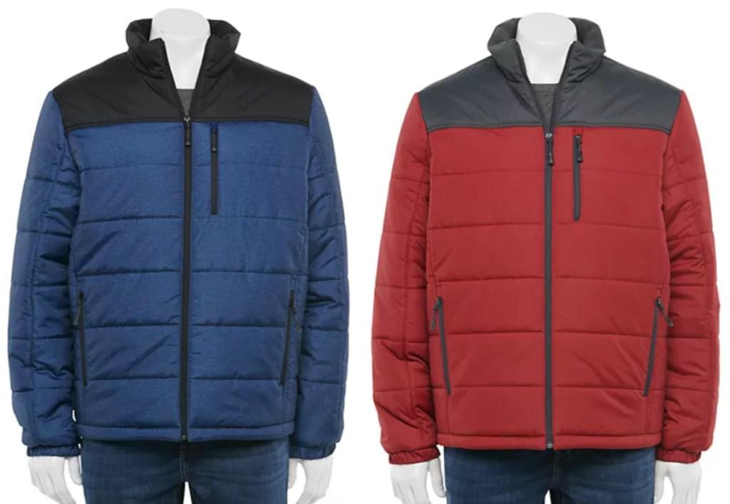 2 men's jackets at kohl's