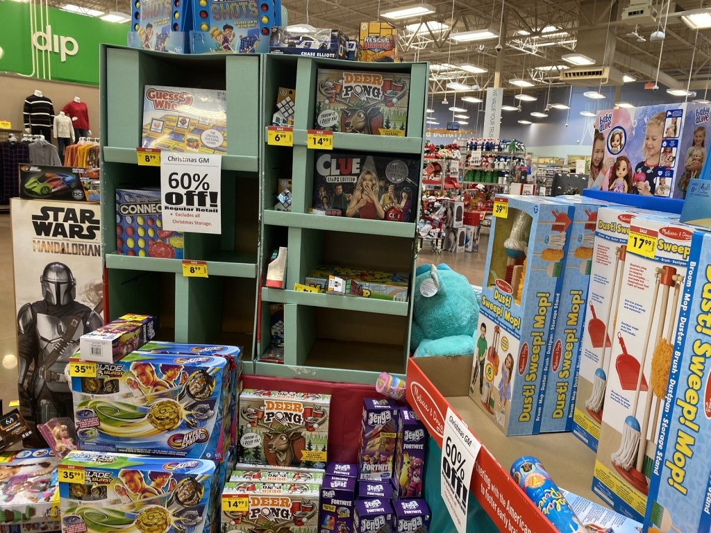 Kroger Holiday Toy Clearance