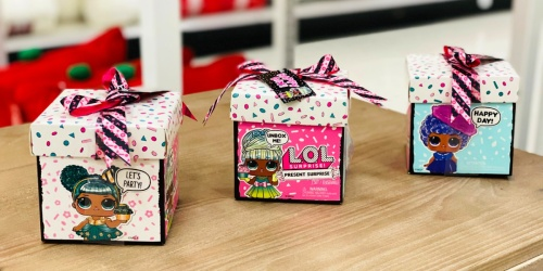 L.O.L. Surprise! Birthday Present Dolls Only $5 on Walmart.com (Regularly $11)