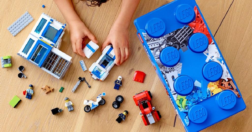 LEGO City Police Brick Box Action Cop 301-Piece Building Set