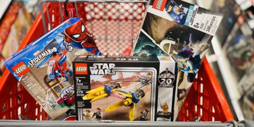FREE $10 Target Gift Card w/ $50 LEGO Purchase | Disney, Star Wars, Marvel, & More