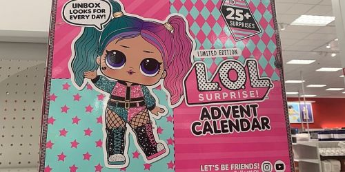 L.O.L. Surprise! Advent Calendar Only $16.99 on Amazon (Regularly $30) | Limited Edition Doll + 25 Surprises